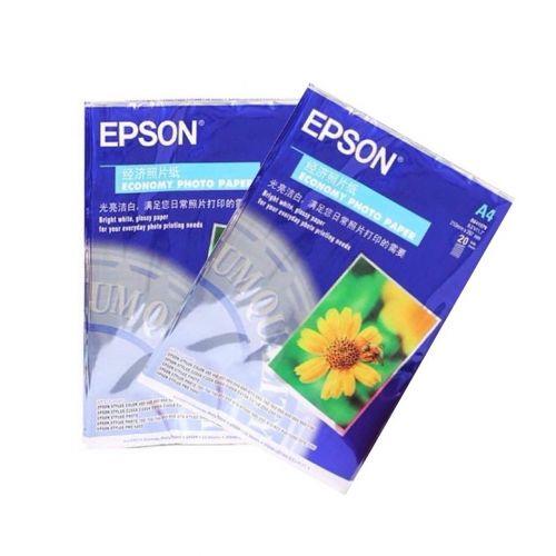 Giấy in ảnh Epson bóng 1 mặt - 100 tờ (115g)