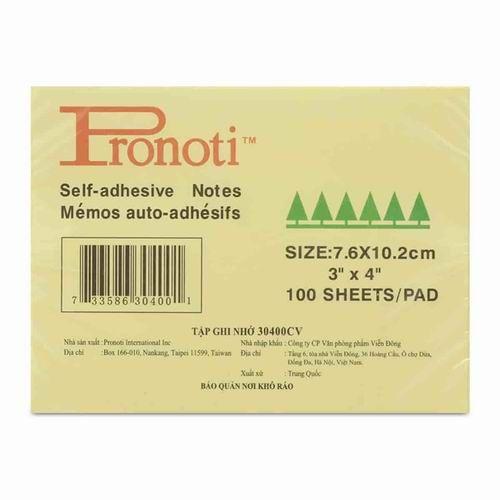 "Giấy giao việc Pronoti - 3"" x 4"""