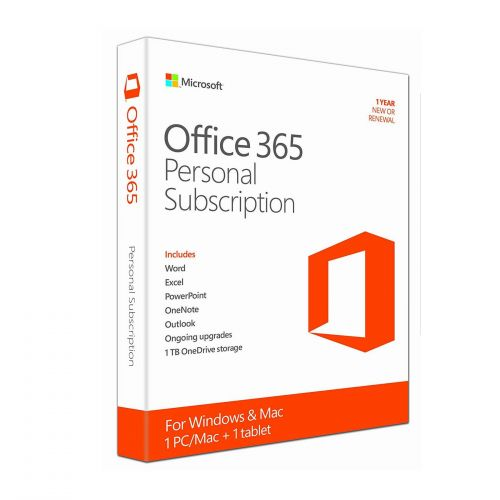 Phần Mềm Microsoft Office 365 Personal English APAC - 1 Năm - Hàng chính hãng