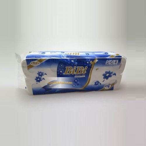 Giấy vệ sinh Bibi 10 cuộn có lõi màu xanh