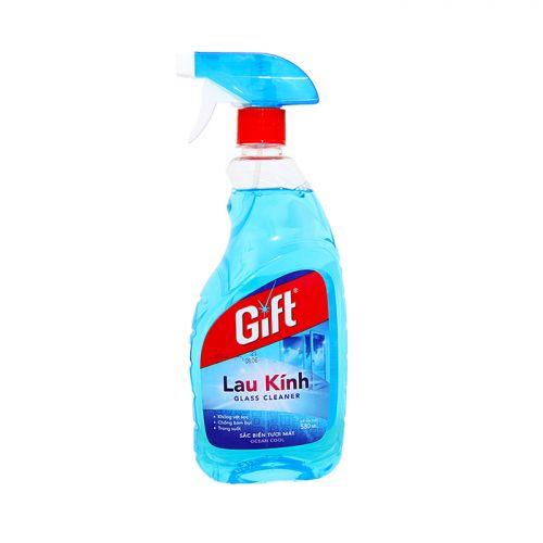Nước lau kính Gift hương Biển 580ml