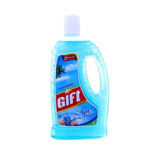 Nước lau sàn Gift 2x đậm đặc hương Gió biển 1000ml