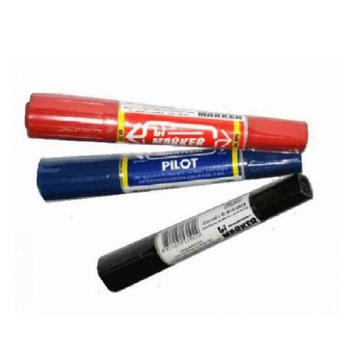 Bút dạ dầu Pilot, nét to 2 đầu Xanh