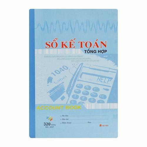 Sổ kế toán tổng hợp Hải Tiến - 320 trang (3057)